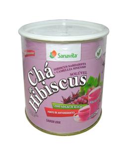 Chá de Hibiscus Sanavita