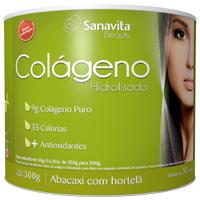 Melhore a Elasticidade da sua Pele com Colágeno Abacaxi com Hortelã Sanavita