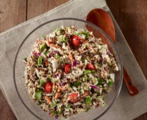 salada de chia com quinoa