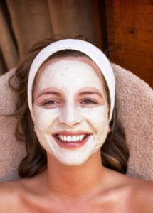 mascara argila branca