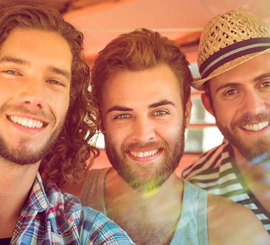 pelos encravados barba
