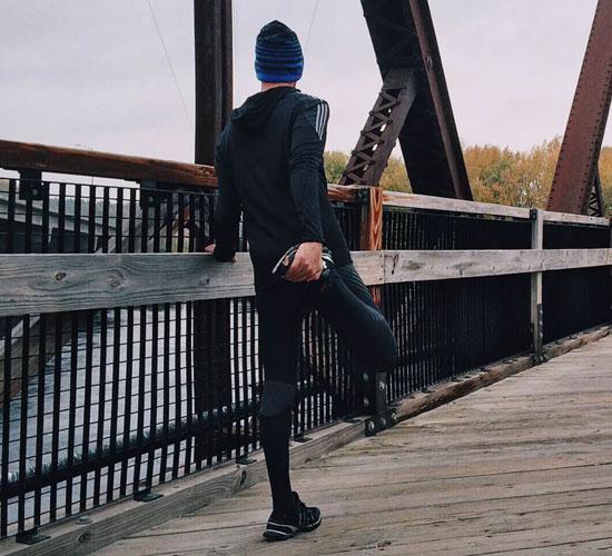 exercitar no frio
