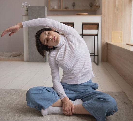 atividade física dentro de casa