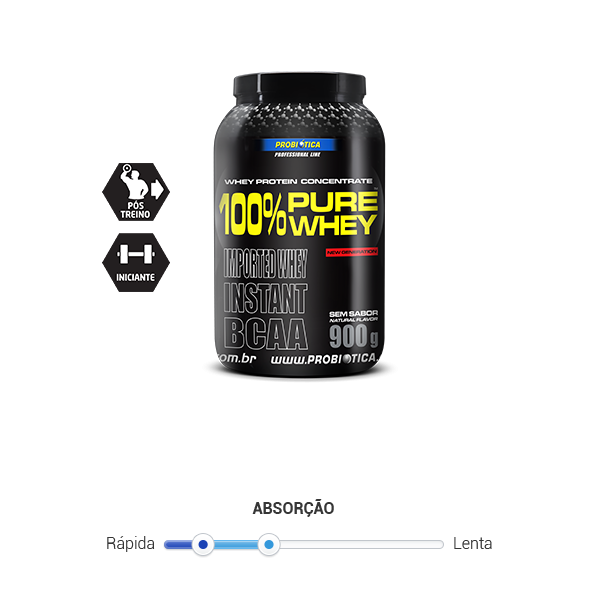 100% Pure Whey - 900 g