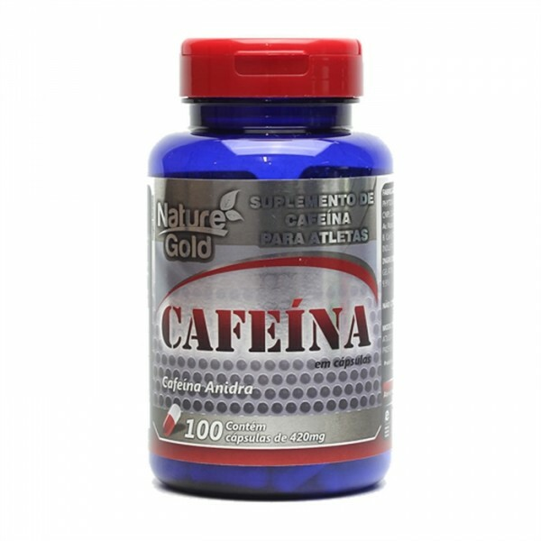 Nature gold Cafeina 420 mg - 100 cápsulas