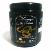 Manteiga de Sucuri gel massageador - 200 G