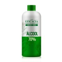 Álcool 70% 500ml - Spray Antisséptico Glicerinado com fixador
