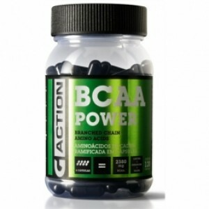 Gauer BCAA Power - 120 cápsulas