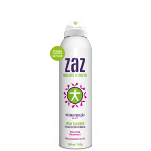ZAZ Repelente de Insetos Aerosol - (Spray contínuo 200 ml)