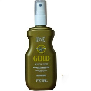 Repelente Luvex Gold  - Spray Icaridina 120ml