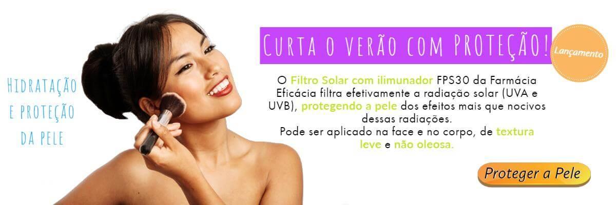 Filtro Solar Iluminador FPS 30 Beauty Care - 30 gramas